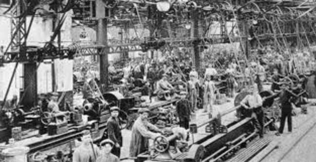 Se construyo la primera fabrica textil