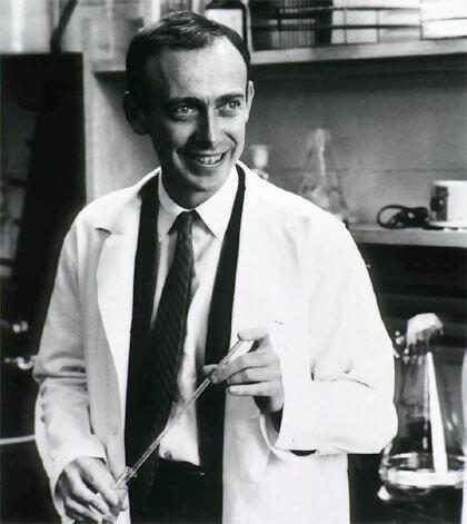 James Dewey Watson y Francis Crick