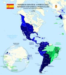Independencias y cambios territoriales en Nueva España