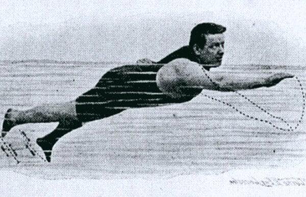 Un estilo de natación