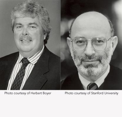 Stanley Cohen y Herbert Boyer