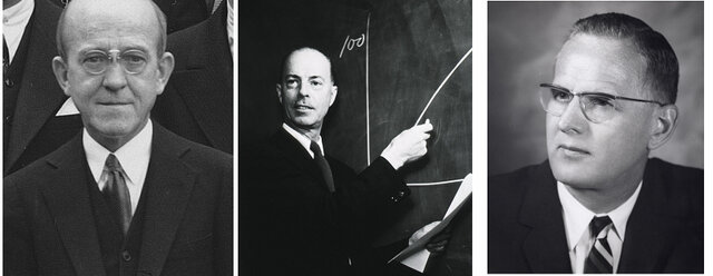 Allan Maxam, Walter Gilbert y Frederick Sanger