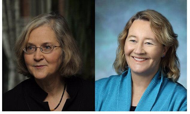 Elizabeth Blackburn y Carol Greider