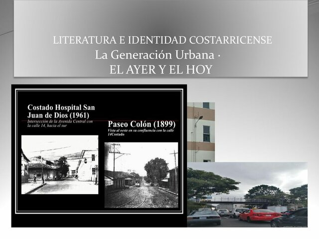Se concreta en Costa Rica un proceso de modernización e industrialización.