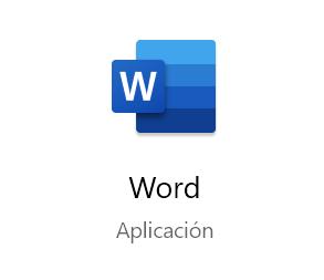 Microsoft Word 2019.