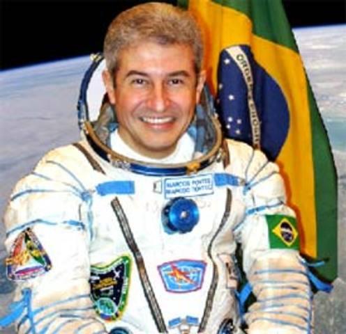 Ida de Marcos Pontes ao espaço