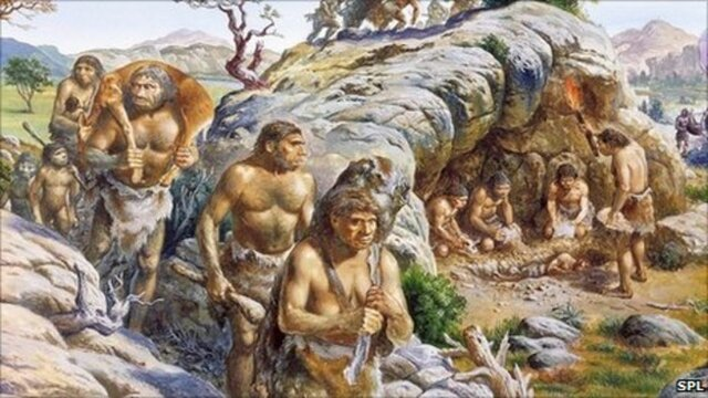Neanderthal become dominate - 80 tya