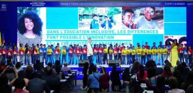 Colombia, recibe el foro sobre inclusión y equidad en la educación más importante del mundo