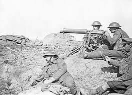 La radio es utilizada para coordinar la localización de las tropas en la primera guerra mundial.