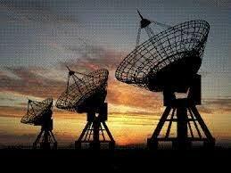 Radio vía satelital.