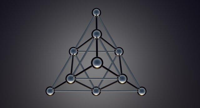 Carbono tetraédrico y asimétrico.