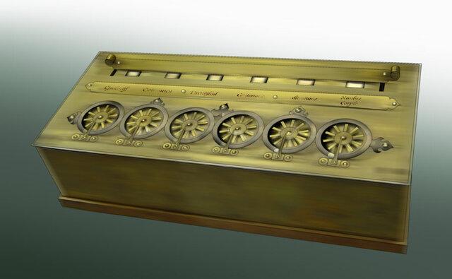 La invención de la primera calculadora