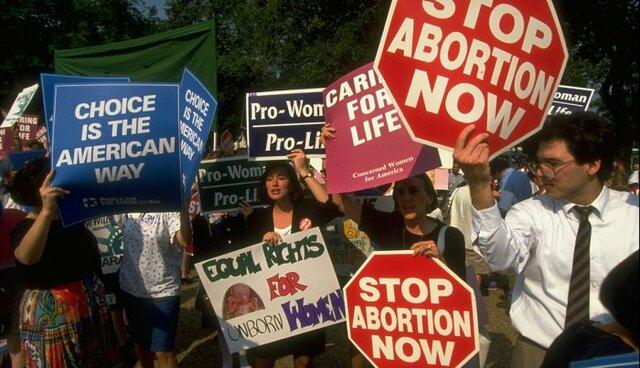 Les légalisations de l'avortement aux États –Unis