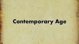 CONTEMPORARY HISTORY timeline
