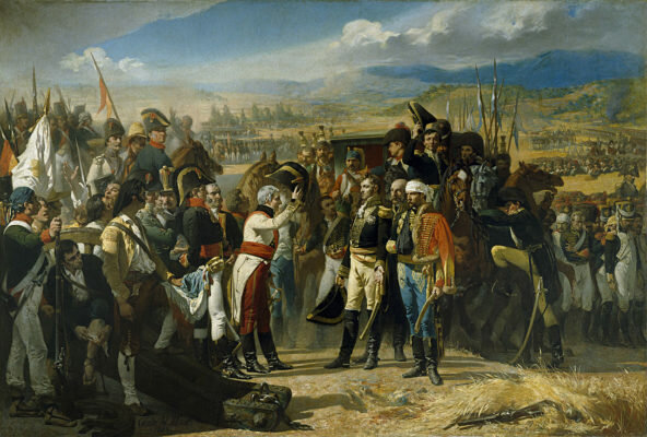 Beginning of the war of independence in Spain
