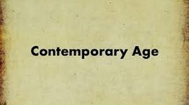 Contemporary Age timeline