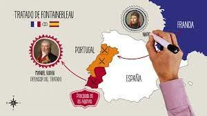 Beginning of the war of independence in Spain.