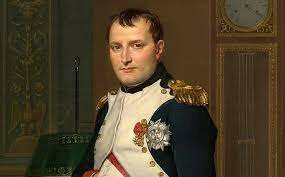 The defeat of Waterloo marks the end of Napoleon's military power