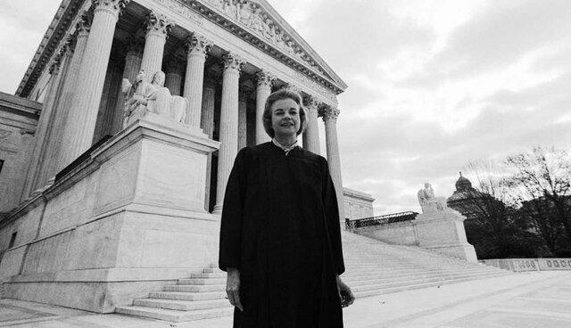La première femme à la cour suprême des États – Unis