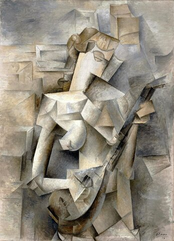 Picasso begins a new pictorial style, Cubism
