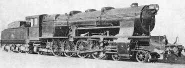 First steam locomotive in the Iberian Peninsula.