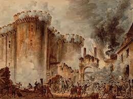French Revolution. The village occupies the Bastille.