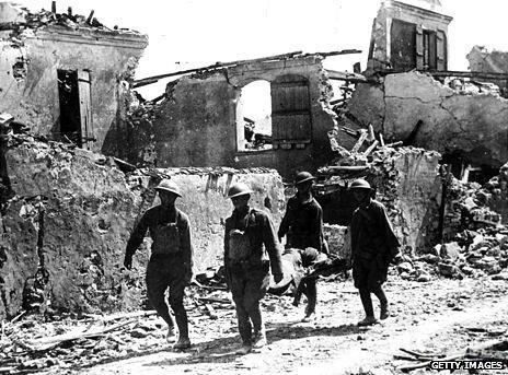World War I ends with more than 12 million dead