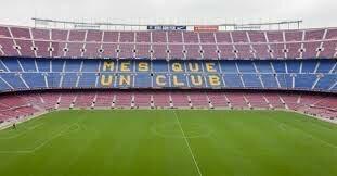 Primer partit al Camp Nou