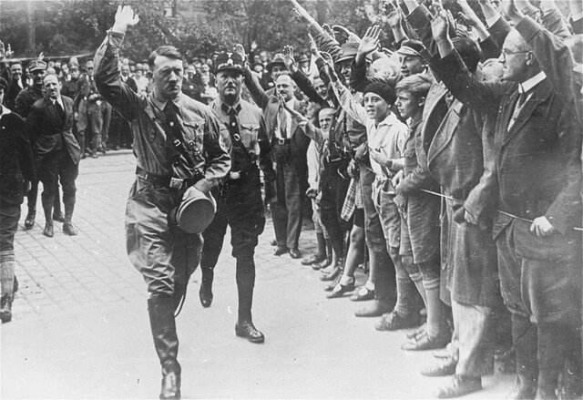Nazism begins in Germany