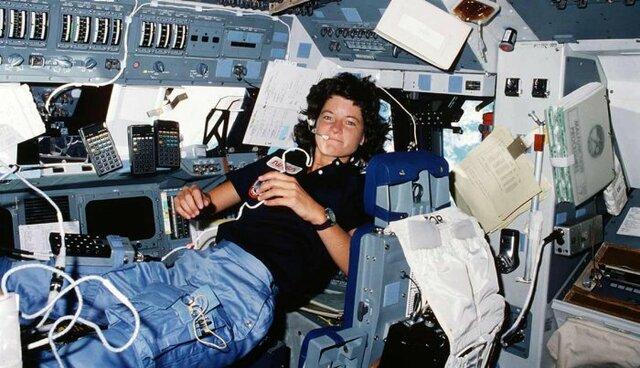 La première femme américaine dans l'espace