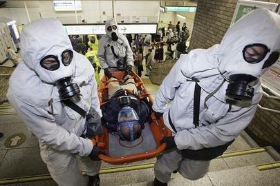 Attaque au gaz sarin dans le métro à Tokyo
