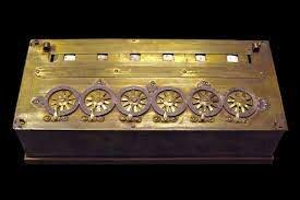 La primera calculadora