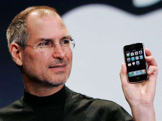 Apple révolutionne le téléphone portable avec l'iPhone