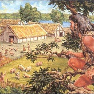 Tijdbalk Prehistorie timeline