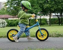 Amb 3-4 anys vaig começar a anar en bicicleta