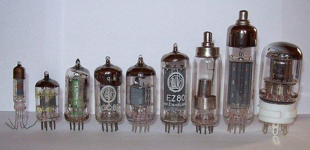Válvula o tubo electrónico 1904