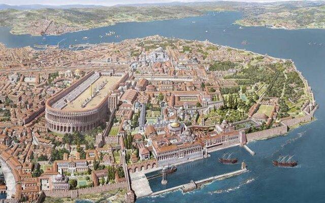 Constantinoble nova capital de l'imperi