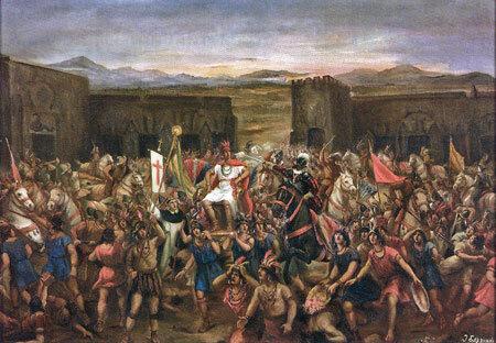 CONQUISTA DE L'IMPERI INCA