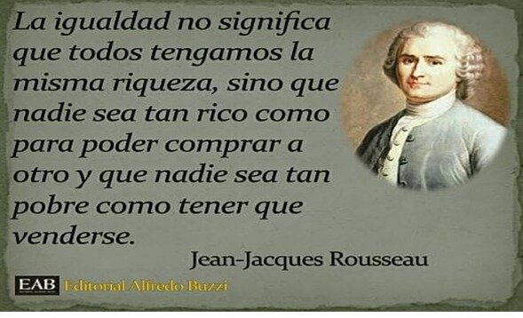 Siglo XVIII- Jean -Jacques Rousseau