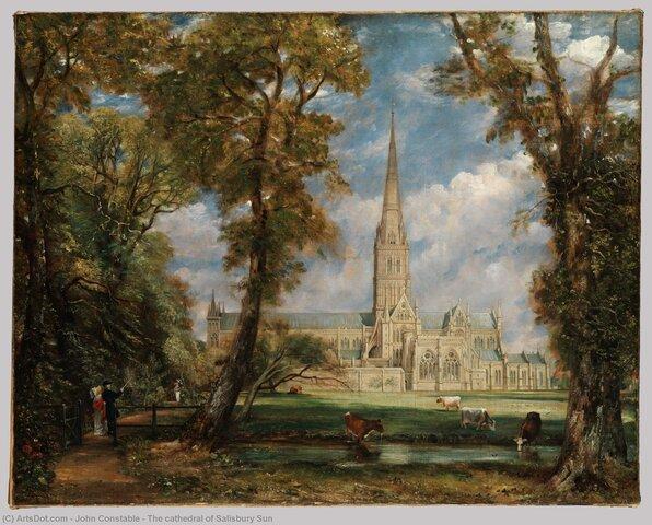 La Cattedrale di Salisbury (Constable)