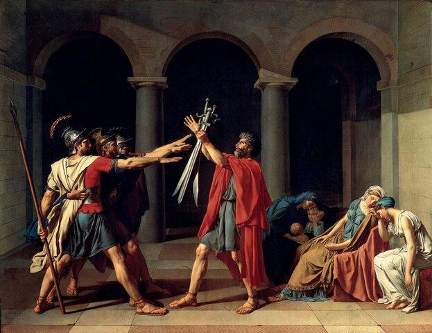 Il giuramento degli Orazi (David)