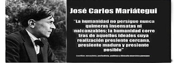 Siglo XIX- José Carlos Mariategui