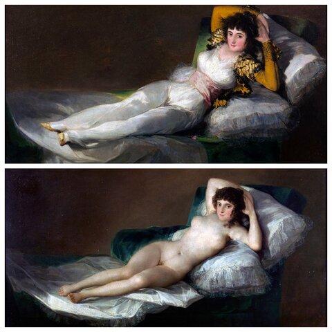 Maja desnuda e Maja vestida (Goya)