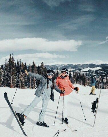 La primera vegada que vaig esquiar