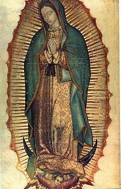 La Virgen de Guadalupe y su imagen para evangelizar