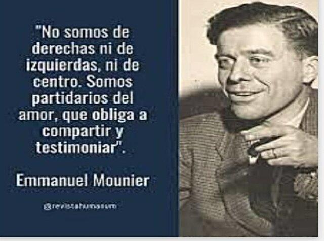 Siglo XX- Emmanuel Mounier
