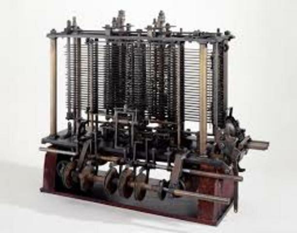 1830. Maquina Analitica.