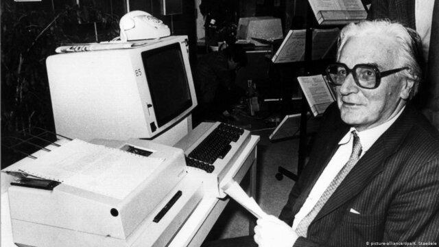 Es creada la primera computadora por Konrad Zuse
