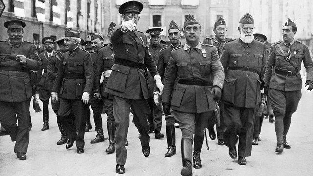 Military dictatorship of Francisco Franco in Spain