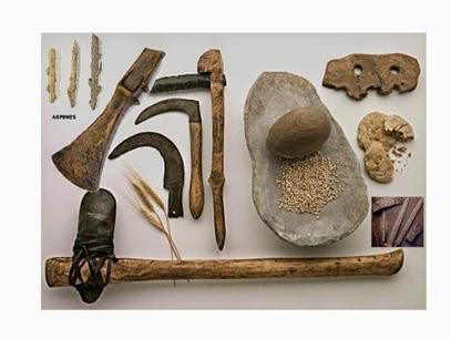 Primeras herramientas 3,4 millones A.C.